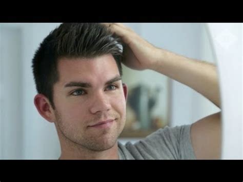 how to create johnny bravo hair mens hairstyle tutorial how to cocktail your hair product youtube
