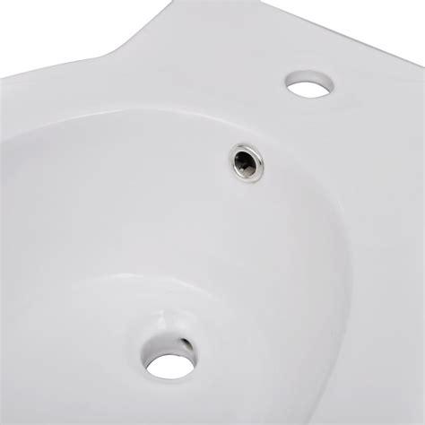 staand toilet set vidaxl nl staand toilet en bidet set wit