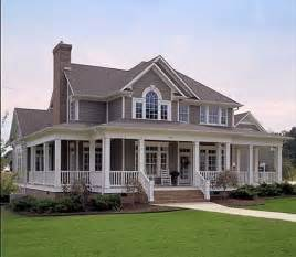 country house with wrap around porch this farm house and wrap around porch