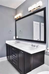 Interior bathroom lighting over mirror industrial light