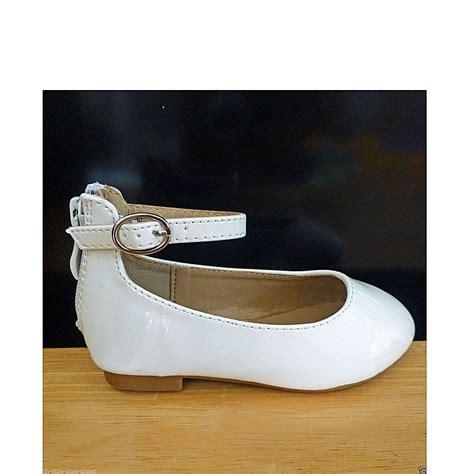 infant white dress shoes white medium dress shoes baby toddler size 6 ebay