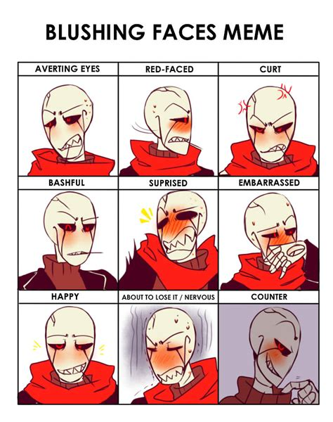 Blush Meme - blushing face meme www pixshark com images galleries with a bite