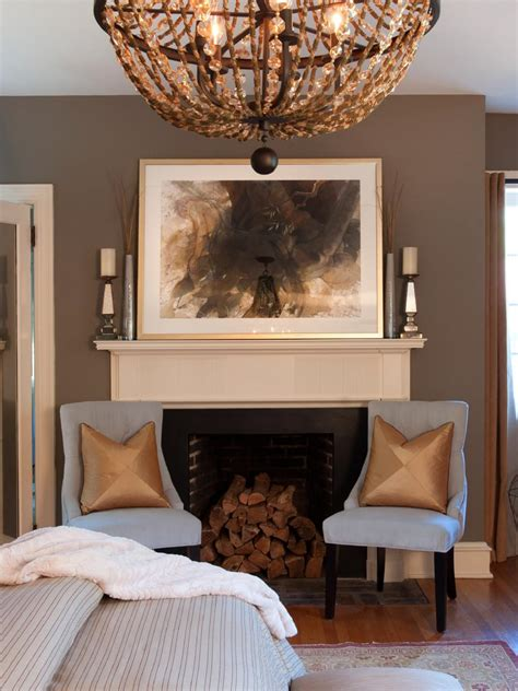 transitional style bedroom in brown with blue a bold pictures of bedroom wall color ideas from hgtv remodels hgtv
