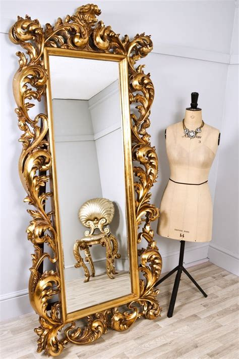 large decorative frame mirror large decorative mirrors frame the bright gold