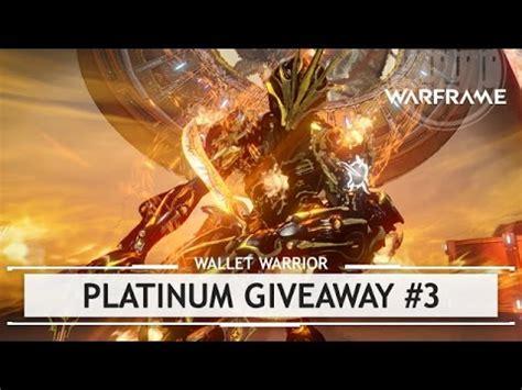 Warframe Com Giveaway - warframe platinum giveaway closed