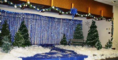 winter stage decorations 17 best images about backdrop ideas on