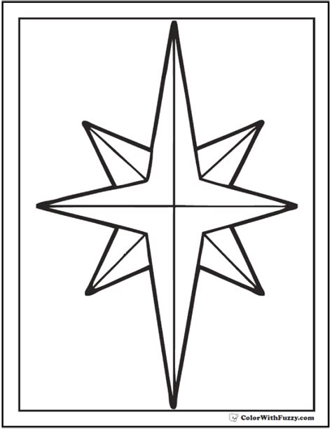 coloring pages of the christmas star christmas star coloring page pictures to pin on pinterest
