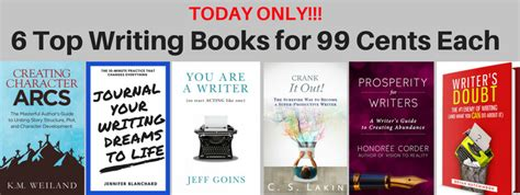 today only get 6 top writing books for 99 cents each blanchard