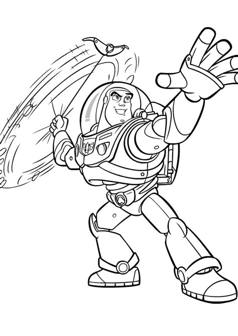 buzz and zurg coloring pages download and print for free
