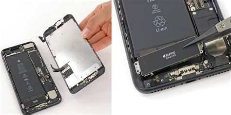 how to replace iphone 7 7 plus battery display taptic engine more in new repair guides