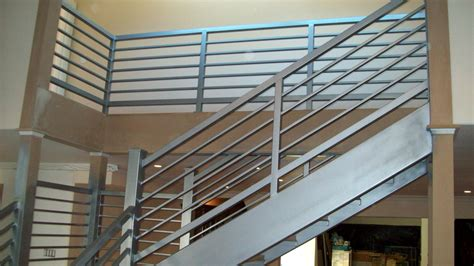 minimalist awesome design of the banister rails metal that