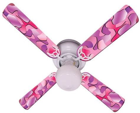 pink and white ceiling fan pink ceiling fan to add more at any room decor
