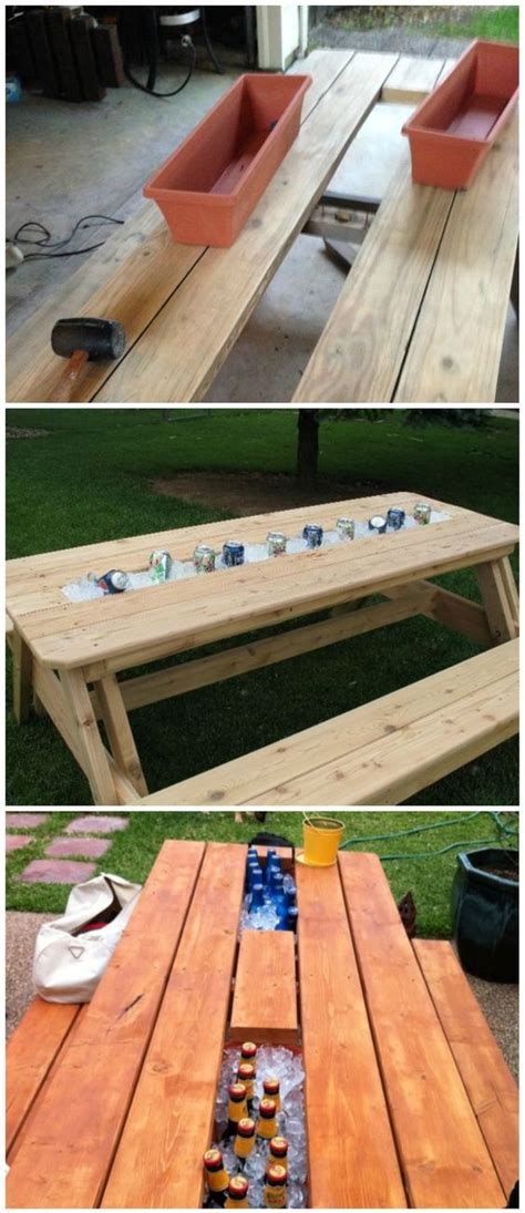 cool painted picnic tables timelessly marvelously functional and easy diy picnic