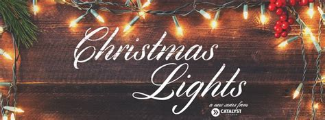 christmas lights church sermon series ideas