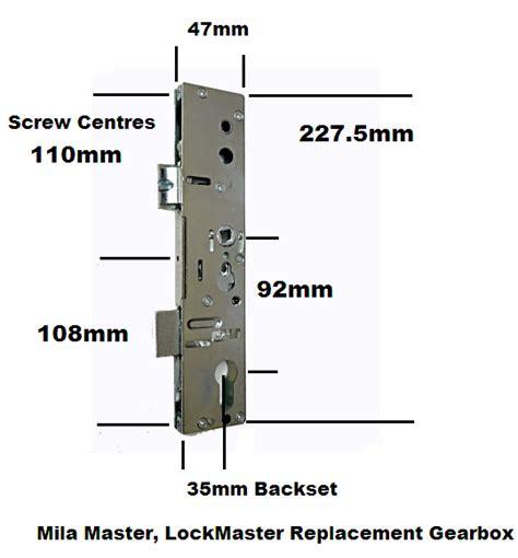 door lock replacement parts mila master lockmaster replacement door lock gearbox
