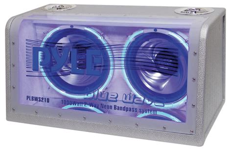 Lu Neon 10 Watt pyle plbws210 on the road subwoofer enclosures