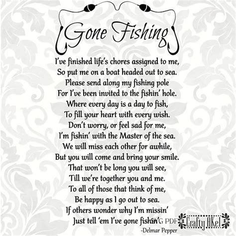 fishing poem bereavement mourning sympathy grief