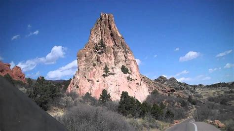 Garden Of The Gods Rock Formations The Praying Rock Formation In The Garden Of The Gods In Colorado Springs