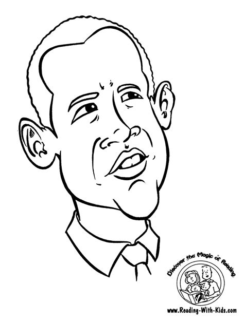 barack free coloring pages