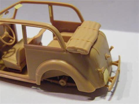 Lackieren Von Plastikteilen by Bronco German Light Staff Car Bj 1937 Cabrio 1 35 Fertig