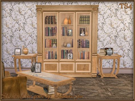 blues set furniture and decor at maruska geo 187 sims 4 updates set classics of the genre addition at maruska geo 187 sims 4