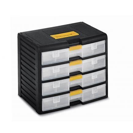 cassettiere terry terry store age 43002 nero trasparente cassettiera