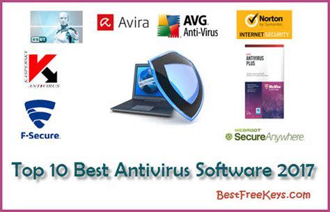 best spyware top 10 best antivirus software of 2017 experts reviews