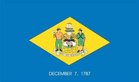 delaware state flag represents