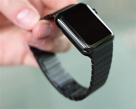 Apple Space Black Stainless Steel Wth Space Black Milanese 42mm review space black steel apple with link bracelet apple smartwatch me