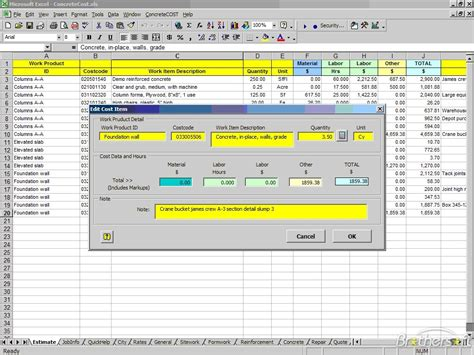 building cost estimator construction estimating excel based construction