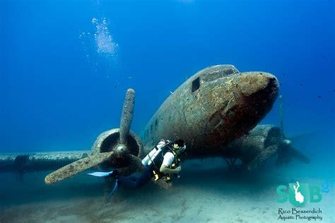dive in sunken plane wreck dakota airplane wreck dive in turkey