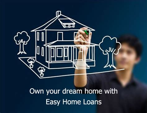 loan housing own your dream home with home loan or mortgage loan or housing loan