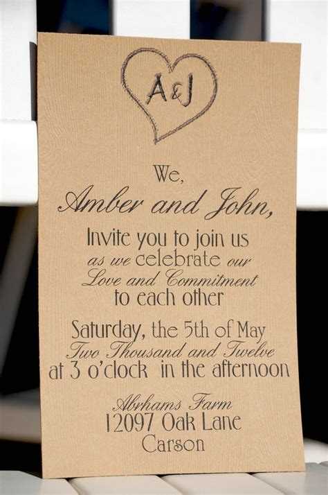 Sle Wedding Invitation Reception To Follow by Invite Wording Popular