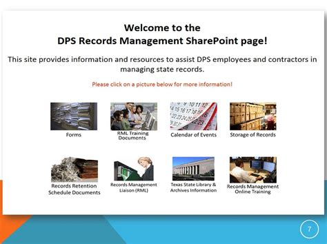 Dps Records E Records Conference 2014 Streamlining With Sharepoint The Record