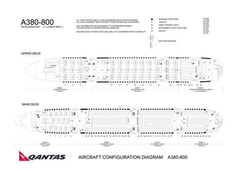 qantas a380 800 seating chart qantas australian airlines aircraft seatmaps airline