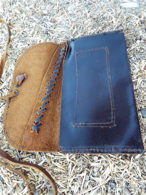Handmade Leather Tobacco Pouches - tobacco pouch leather handmade genuine leather