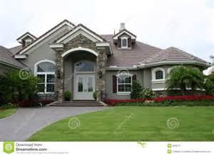 Pool Guest House Plans maison anglaise de patrimoine de type image stock image