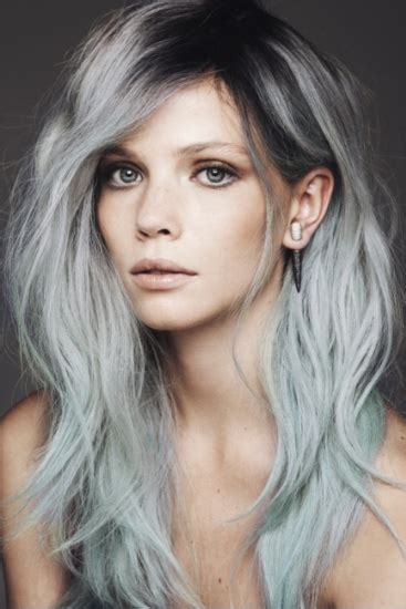 gray hair fad hair trends dip dye ombre the treasure hunt