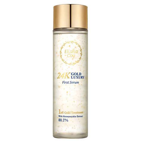Serum 24k Gold Original elishacoy 24k gold luxury serum elishacoy skin booster shopping sale koreadepart