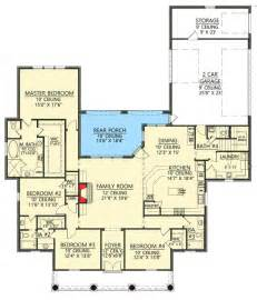 Garage Floor Plans With Bonus Room 4 Bed Acadian House Plan With Bonus Room