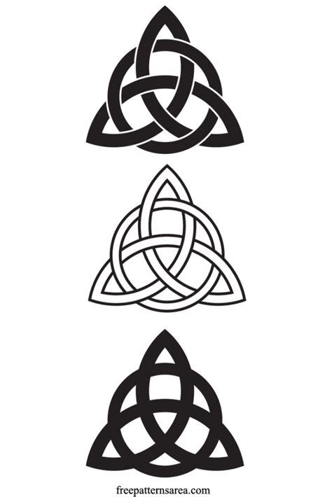 knot design definition celtic triquetra symbol jewelry project freepatternsarea