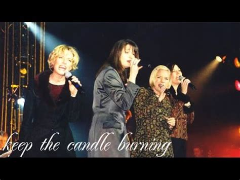 Point Of Grace Keep The Candle Burning Live Youtube