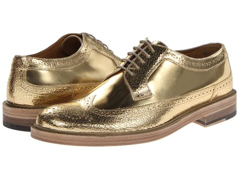 womens metallic oxford shoes marc metallic oxford gold shipped free at zappos