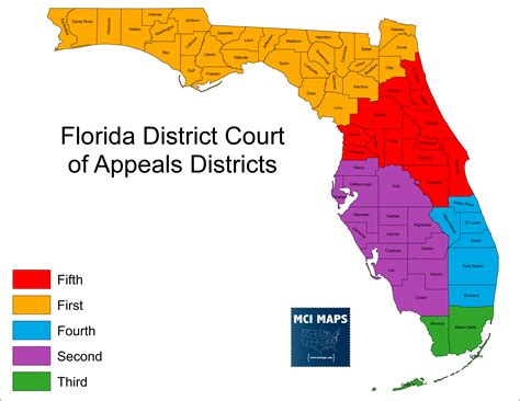 florida circuit court map the regional disparity in florida s judicial retention