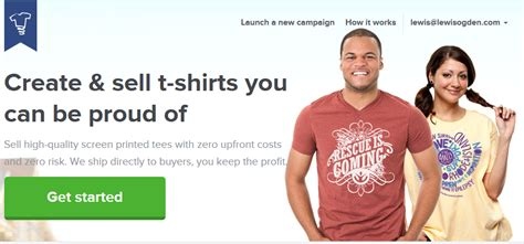 Can You Make Money Selling T Shirts Online - make money online selling t shirts with teespring