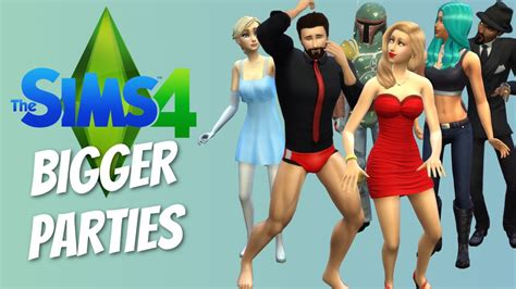 sims 4 mods manga bigger parties mod the sims 4 funny highlights 17 youtube