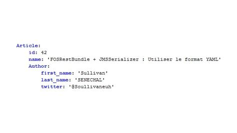 format yaml fosrestbundle jmsserializer utiliser le format yaml