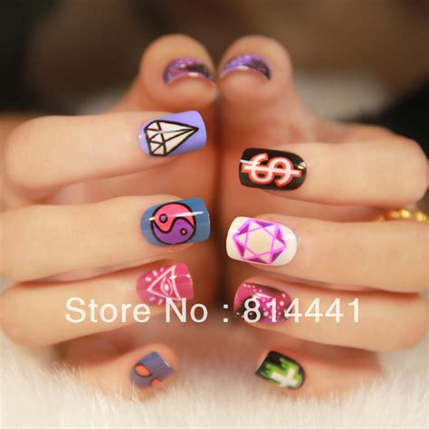 christmas artificial nails promotion shop for promotional