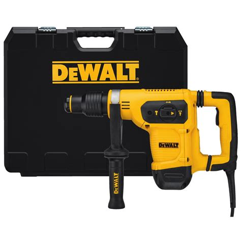 dewalt 8 1 in corded sds plus l shape concrete