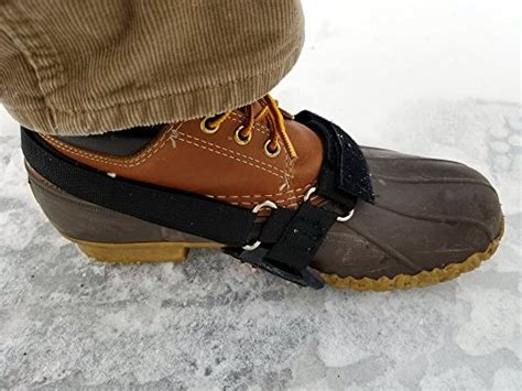 no slip boots shoe cleats stable no slip grip traction for boots